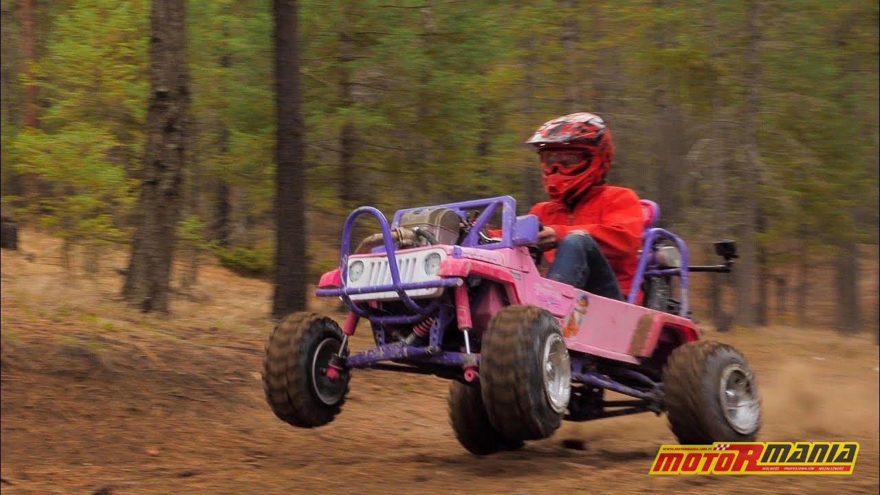 Barbie Jeep z silnikiem CRF450