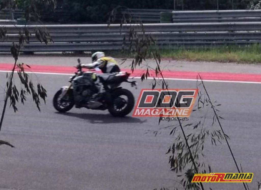Ducati Streetfighter V4 2020 zdjecia szpiegowskie na torze (1)
