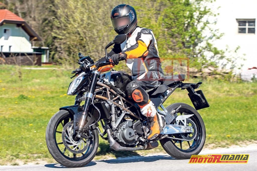 KTM 390 duke - większy - spy shot
