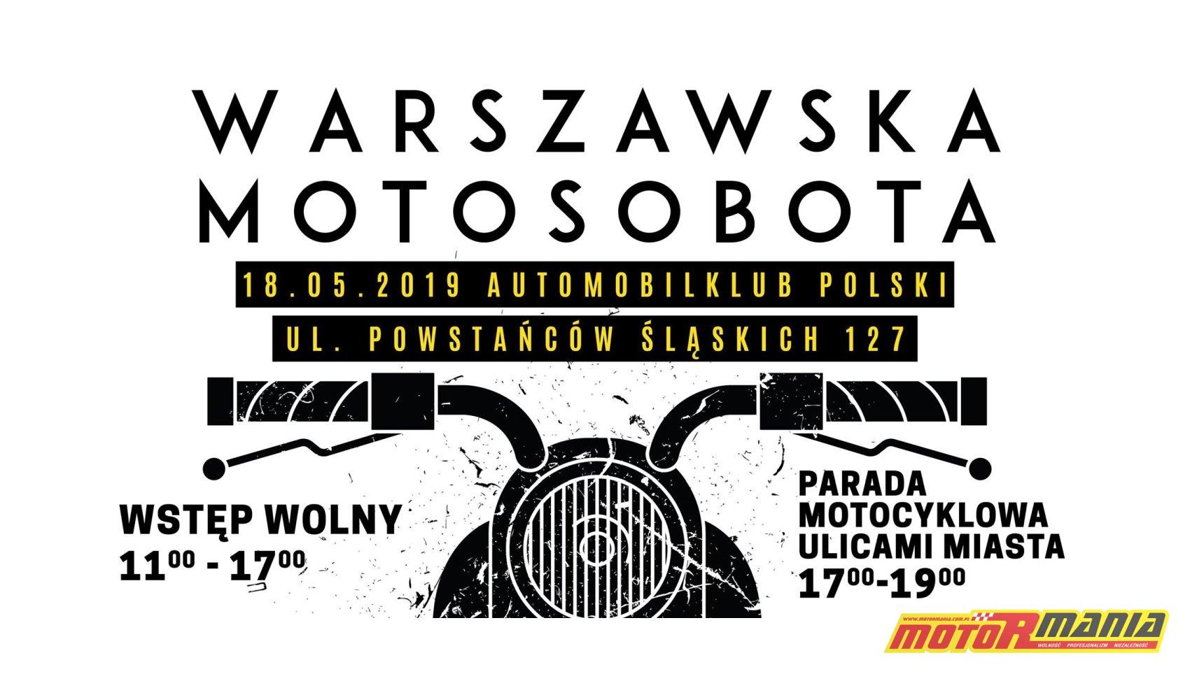 Warszawska Motosobota 2019