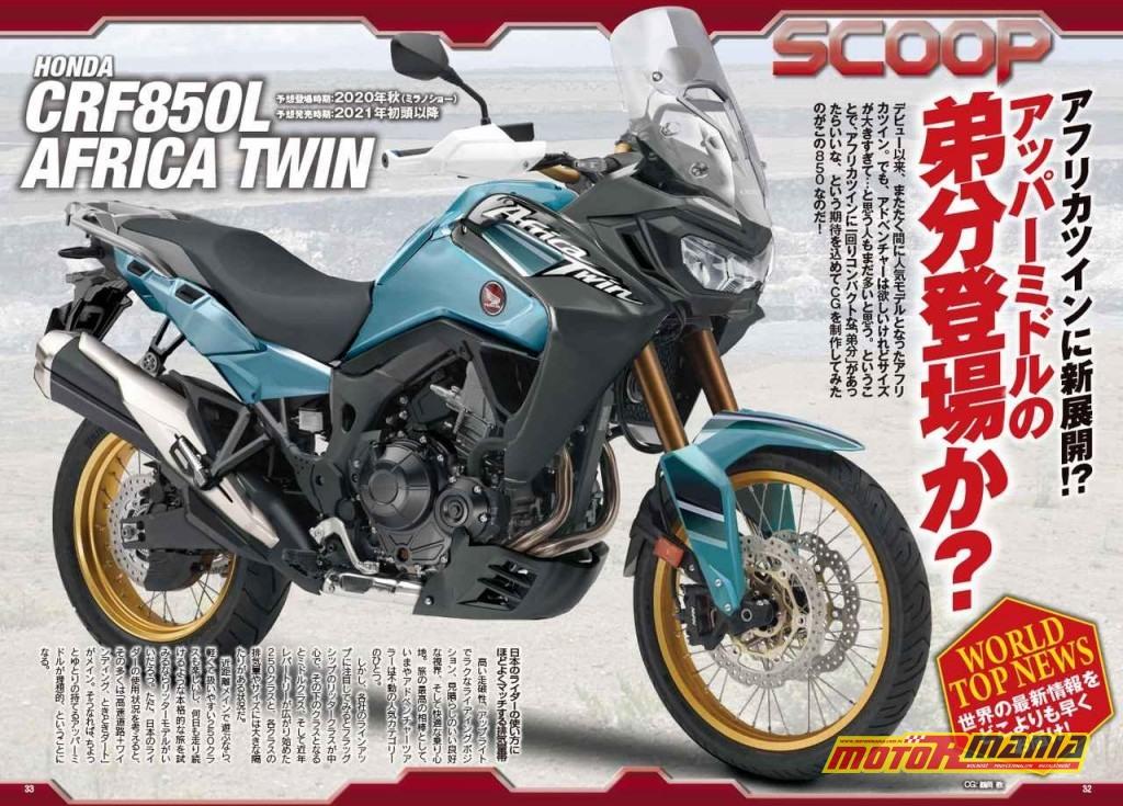 Honda Africa Twin CRF850L 2021