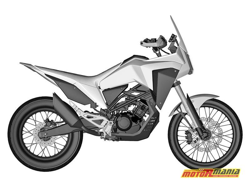 Honda CB125X rendery patentowe (1)