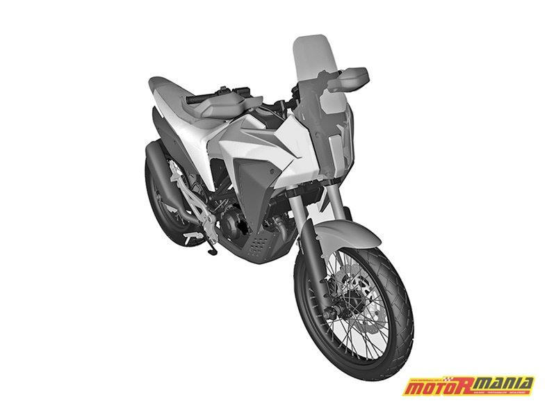 Honda CB125X rendery patentowe (3)