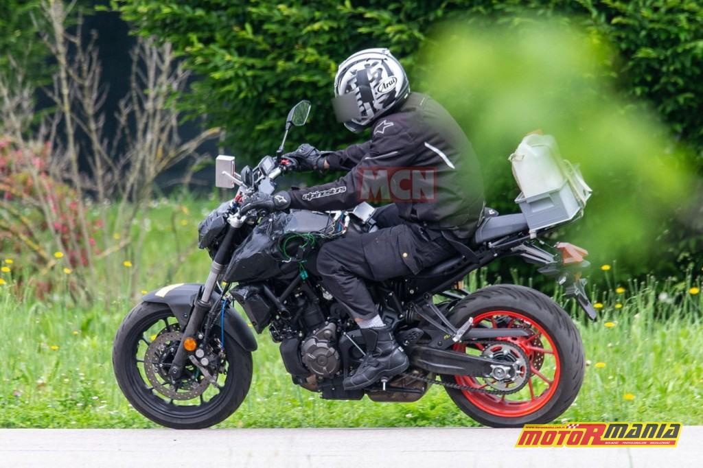 Yamaha MT-07 na 2021 - zdjecia szpiegowskie (6)