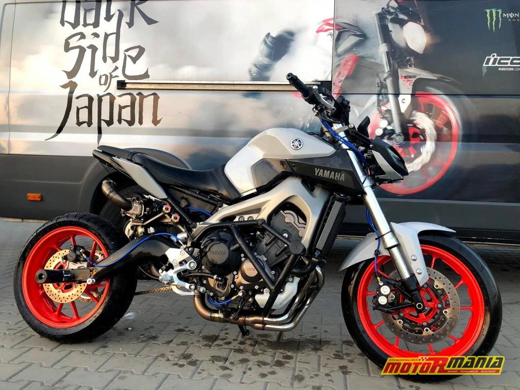 Yamaha MT-09 Turbo - Stunter13