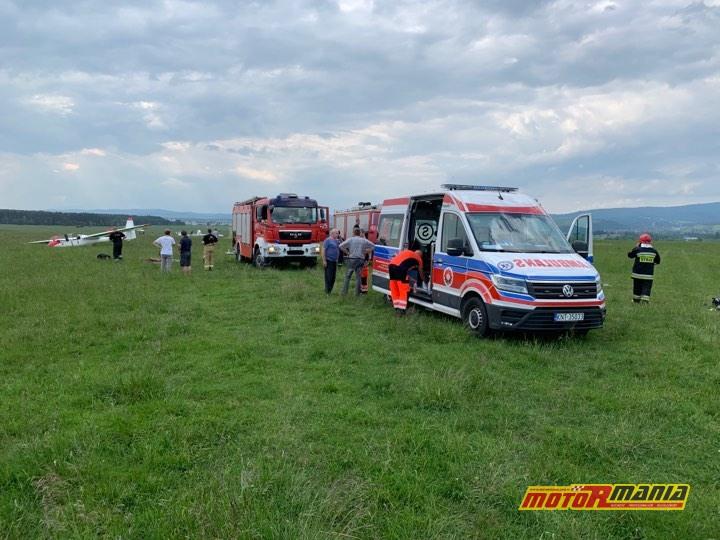 szybowiec motocross wyapdek - fot Michal Adamowski dla podhale24_pl