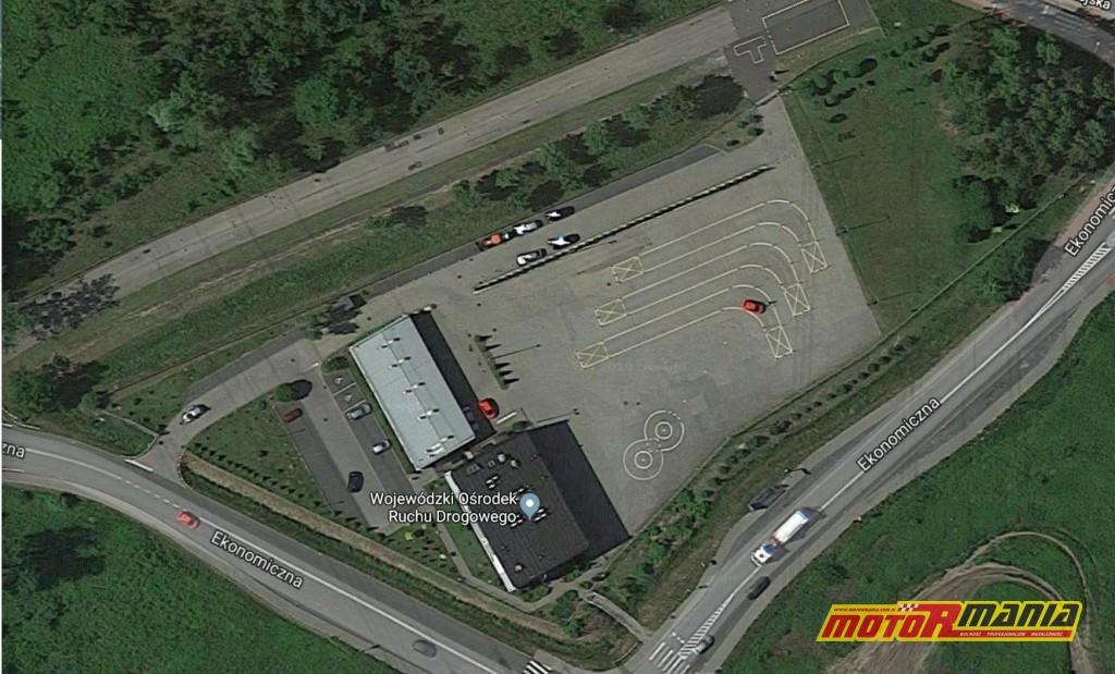 WORD w Rybniku - zdjęcie satelitarne Google Maps.