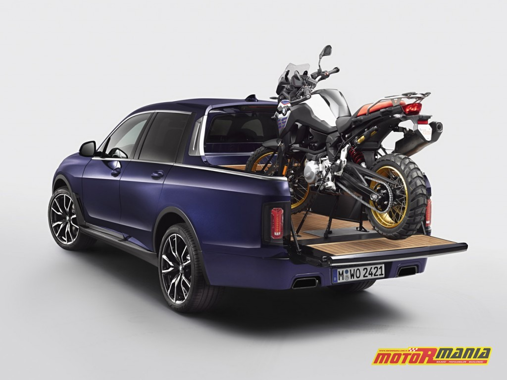 BMW X7 Pick-up oraz na pace F850GS (1)