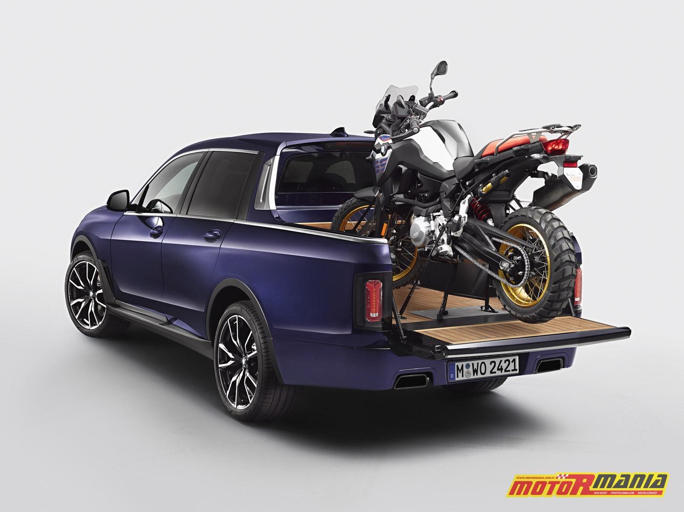 BMW X7 Pick-up oraz na pace F850GS (1)