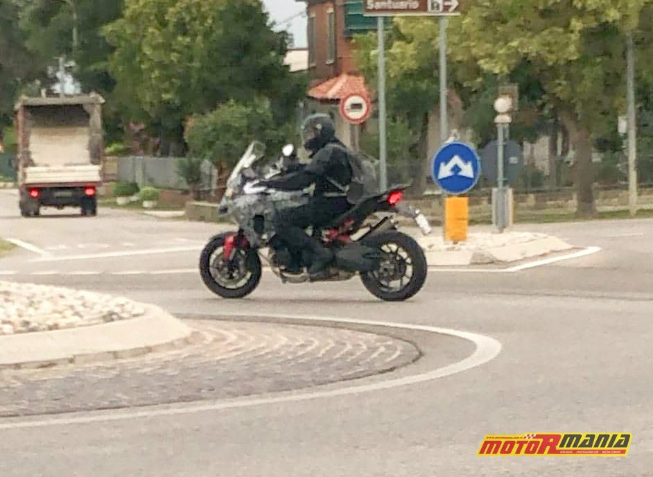 Ducati Multistrada V4 2020 - pierwsze zdjęcie szpiegowskie