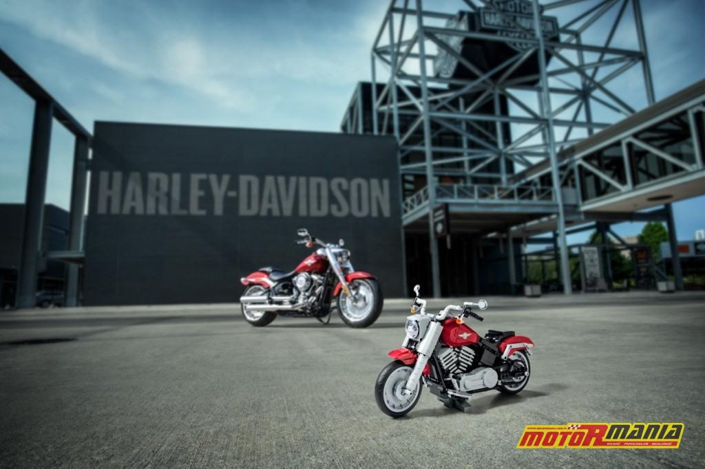Harley Davidson Lego Fat Boy zabawka (12)
