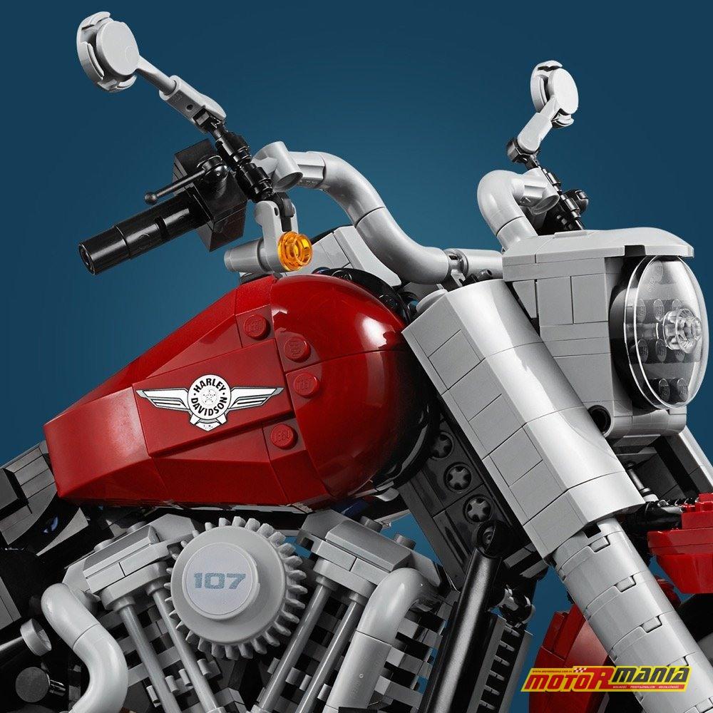 Harley Davidson Lego Fat Boy zabawka (4)