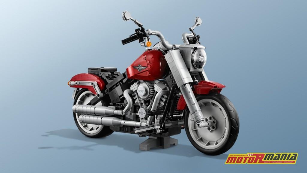 Harley Davidson Lego Fat Boy zabawka (7)