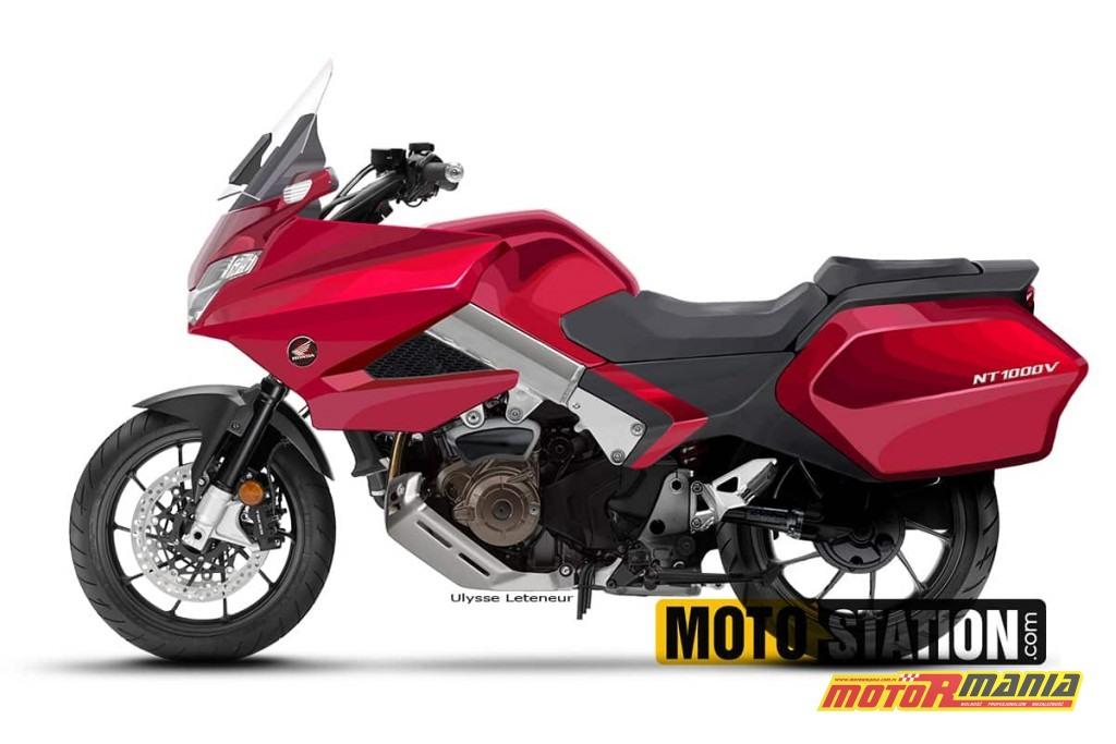 Honda DEAUVILLE 1000 2020 plotki