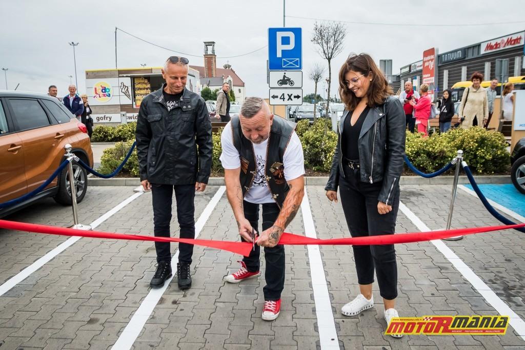 Inowrocław Ryszard Brejza Galeria Solna otwarcie 4 miejsc parkingowych