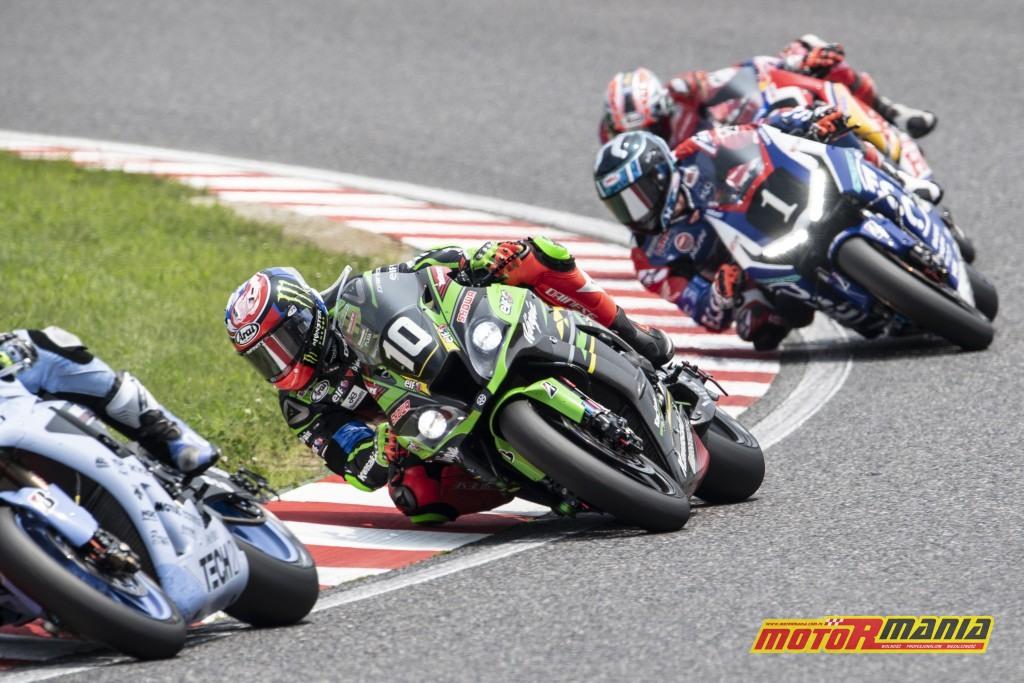 Rok temu Kawasaki z numerem 10 wygrało wyścig...
