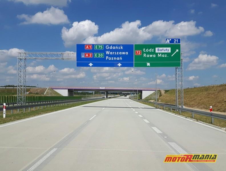nowe znaki GDDKiA na autostradach i drogach szybkiego ruchu (3)