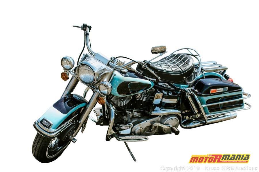 Elvis Presley 1976 Harley Davidson Electra Glide (5)