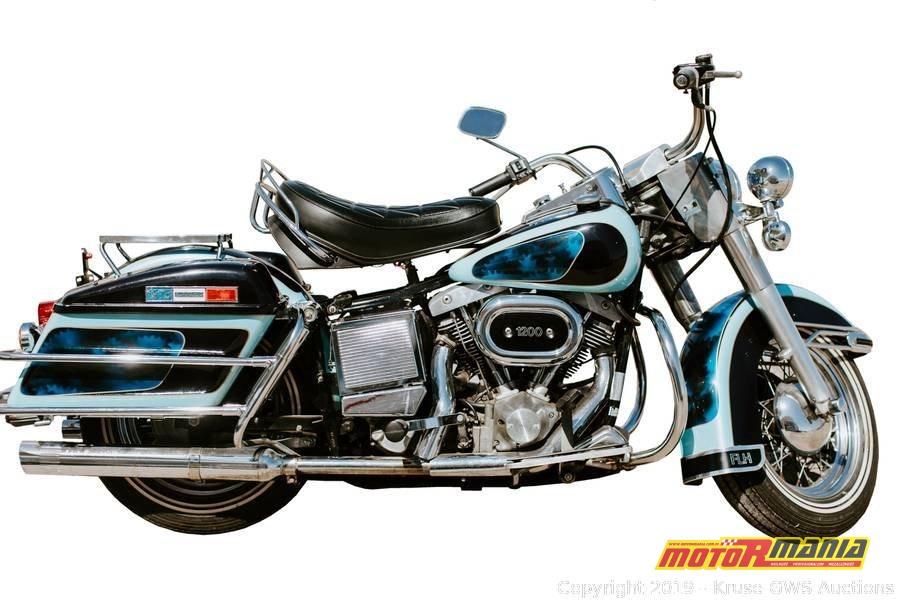 Elvis Presley 1976 Harley Davidson Electra Glide (6)