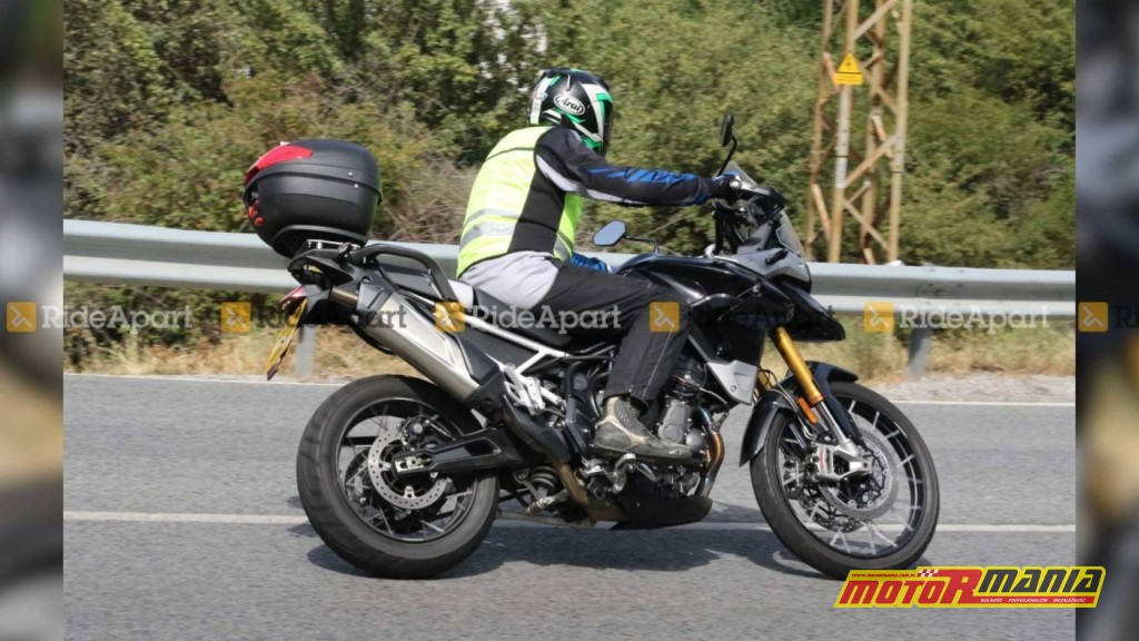 Triumph Tiger 900 2020 spy shot (1)
