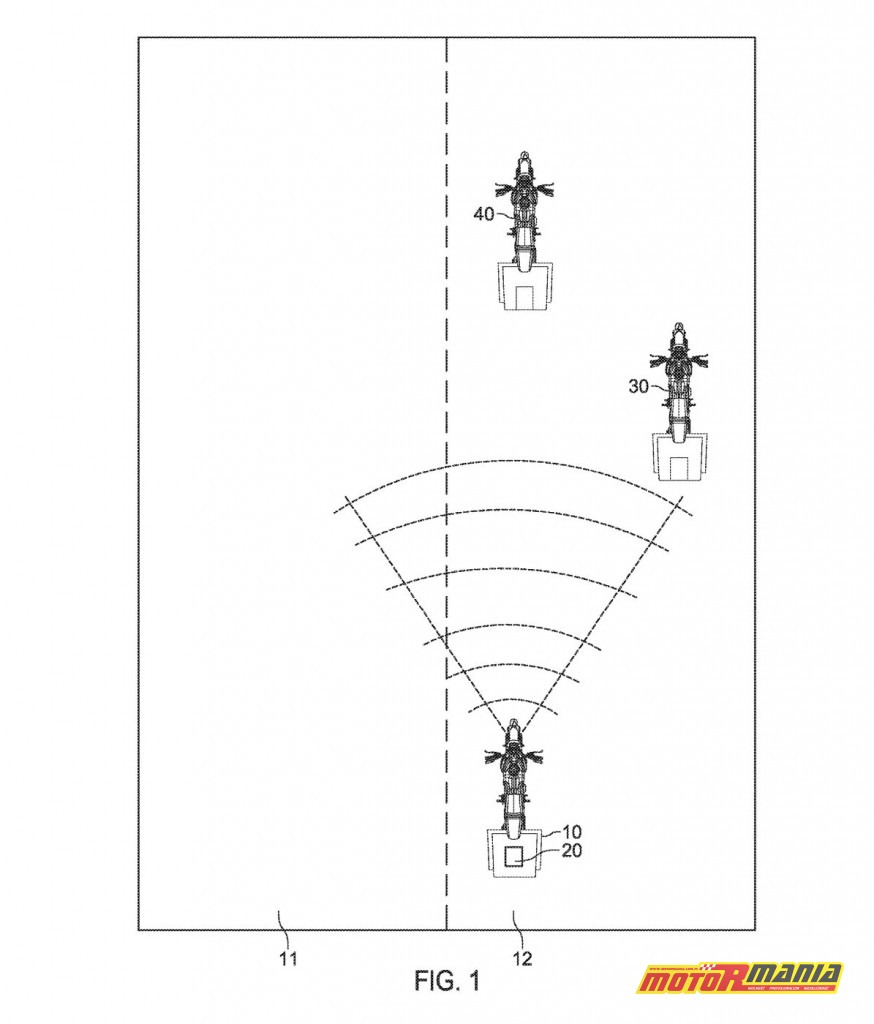 radar motocykle w grupie harley