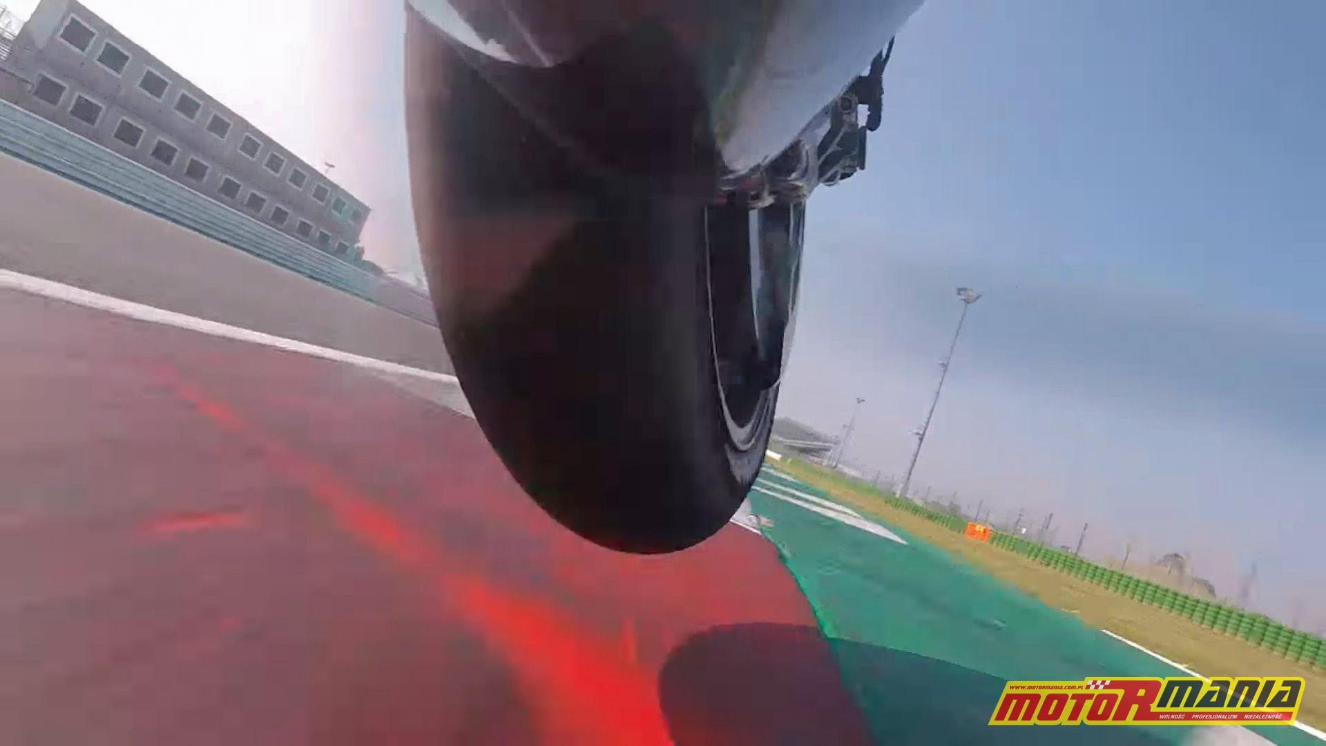 onboard ducati bagnaia motogp testy przednie koło