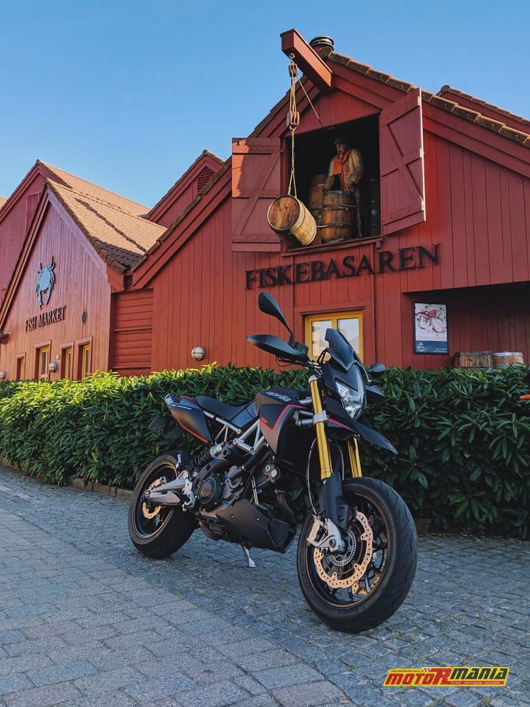 podróż norwegia exemon dorsoduro aprilia