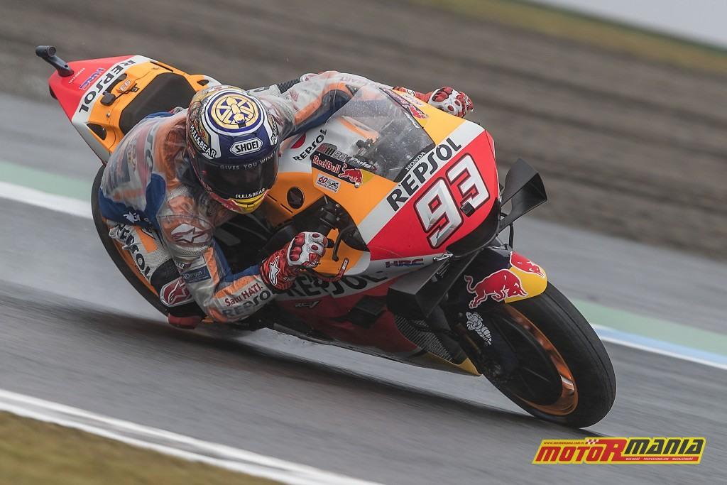Marquez w drodze po pole position - zdjęcia: Repsol