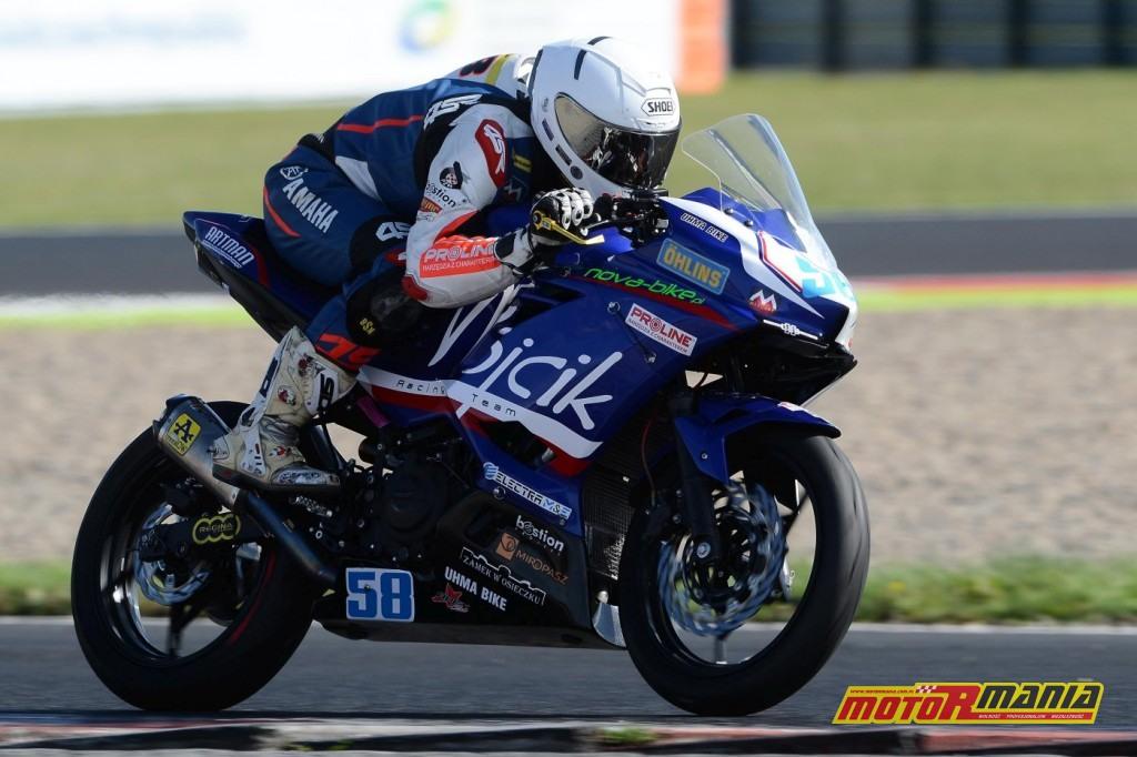 Mateusz Hulewicz Supersport 300 i Pitbike SM (2)