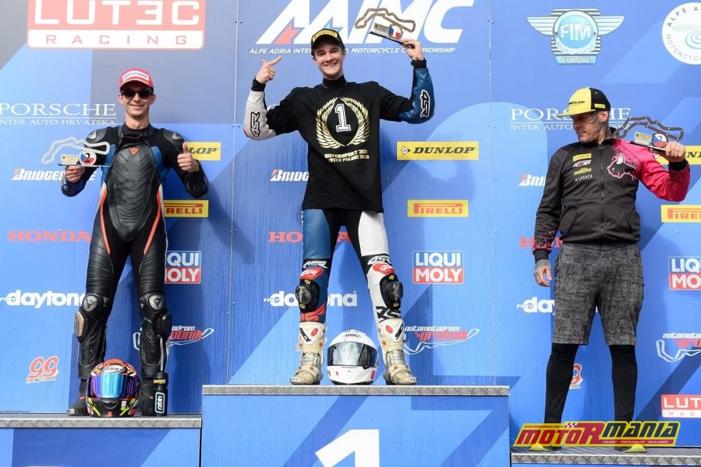 Mateusz Hulewicz Supersport 300 i Pitbike SM (3)